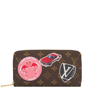 Louis Vuitton Louis Vuitton Monogram World Tour Zippy Wallet