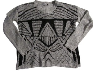 Jon & Anna Aztec Geometric Long Sleeve Sweater