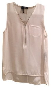 The Kooples Top White 100% Silk