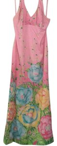 Pink and pattern Maxi Dress by Lilly Pulitzer