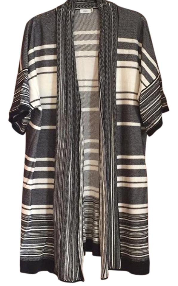 wrap pattyboutik zip up drapes cardigan drape marled