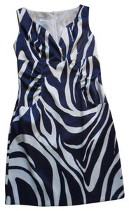 dressbarn Animal Print Empire Waist Dress