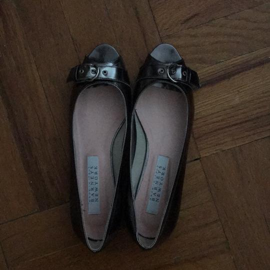 Barneys New York gunmetal with a slight purple tint Flats Image 1