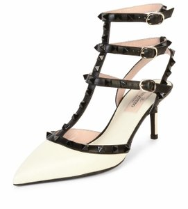 Valentino Black/white Sandals