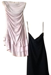 Express short dress Black, Pink on Tradesy