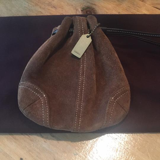 Coach Satchel in brown suede Image 1