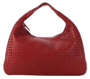 Bottega Veneta Bv.l0316.06 Intrecciato Woven Leather Hobo Bag