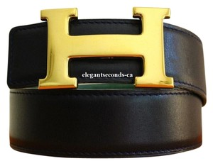 Herms SALE!!! Constance 32MM/75CM Reversible Hermes Belt Kit Gold Buckle
