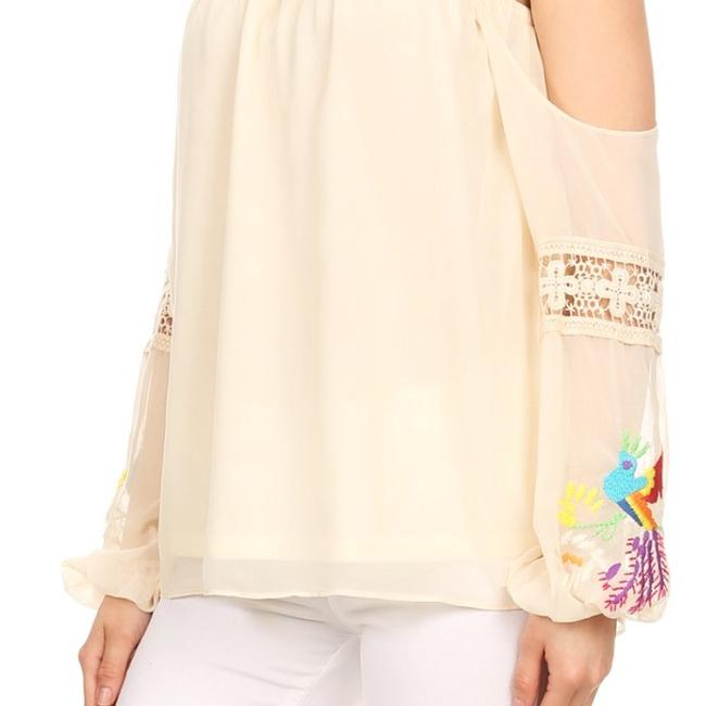 Vava by Joy Han Top Taupe Image 1