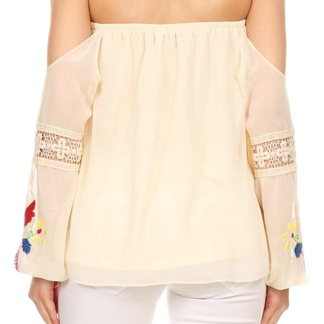 Vava by Joy Han Top Taupe Image 2