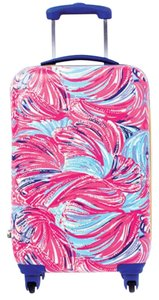 Lilly Pulitzer Lilly Pulitzer Limited Ed Carry On Suitcase 'DRAGONFRUIT OH MY GUAVA'