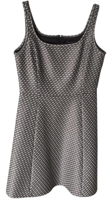Preload https://img-static.tradesy.com/item/21323756/theory-white-black-and-gray-sleeveless-short-casual-dress-size-6-s-0-1-650-650.jpg
