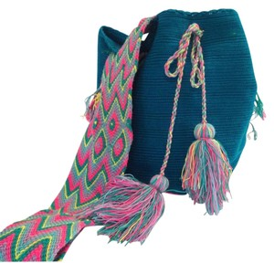 Wayuu Tribe Mochila Handmade Cross Body Bag