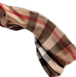 Burberry Lightweight Cashmere Scarf in Check