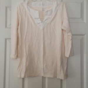 Lands' End T Shirt Ivory