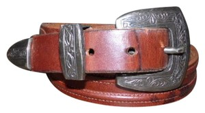 Jennifer Graham etched silver buckle and tip