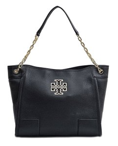 Tory Burch Chain Strap Tote in Black