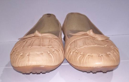 Other Comfortable Neutral Tan Beige Flats Image 3
