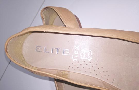 Other Comfortable Neutral Tan Beige Flats Image 5