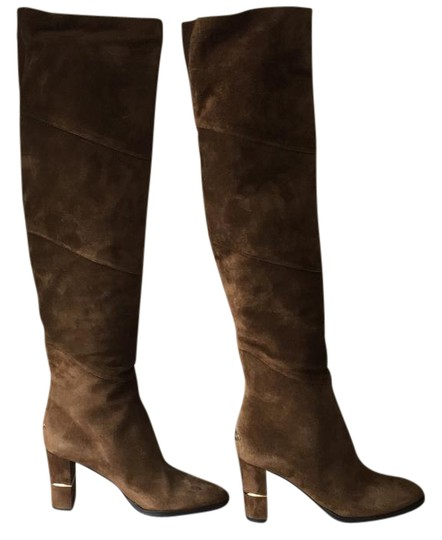 Jimmy Choo brown gold Boots Image 0