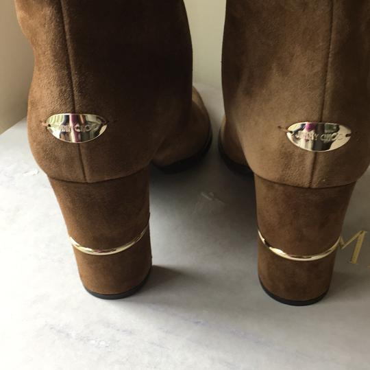 Jimmy Choo brown gold Boots Image 4
