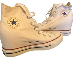 Converse white Wedges