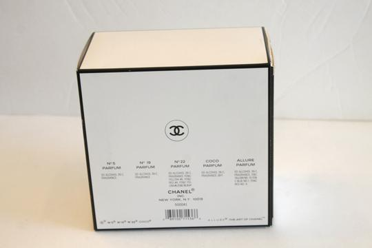 Chanel New The Art of Chanel Assorted Parfum Perfume Round Hat Box Display Image 4