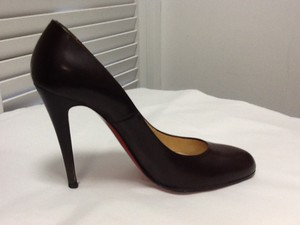 Christian Louboutin Chic Night Out High Heels Brown Pumps