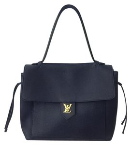 Louis Vuitton Tote in Blue with Black Handle
