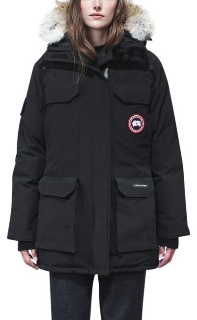 Item - Black Women's Arctic Program Expedition Hooded Parka Coat Size 0 (XS)