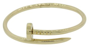 Cartier Authentic Cartier Juste un Clou 18k Yellow Gold Nail Bracelet Size 14