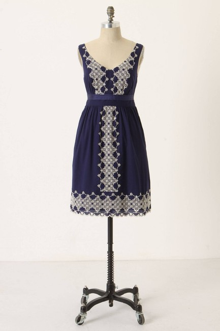 Preload https://img-static.tradesy.com/item/21324690/anthropologie-navy-camilla-embroidered-by-edme-and-esyllte-m-mid-length-short-casual-dress-size-8-m-0-2-650-650.jpg