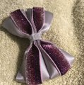 Other Handmade silver satin and purple bow!!! Image 3