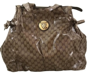 Gucci Satchel in beige brown GG