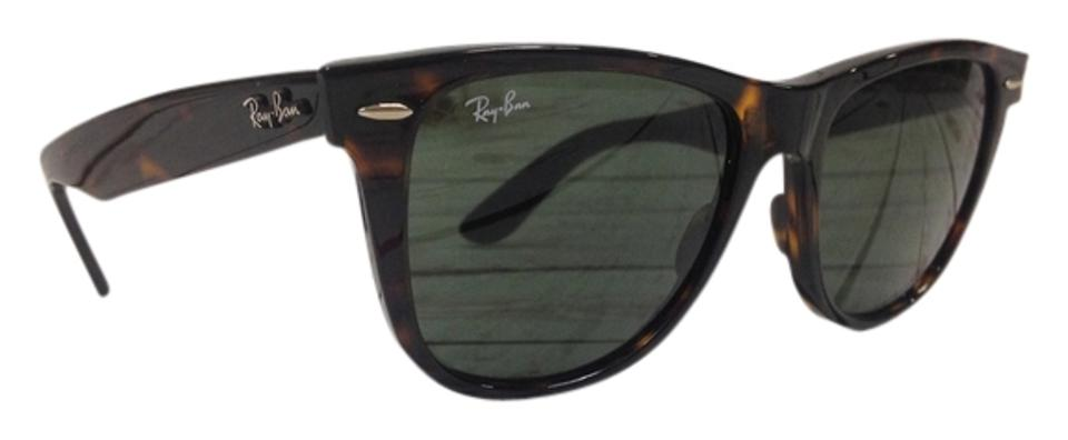 95998474f9 Ray-Ban Tortoise Crystal Green New with Tags Unisex Rb2140 902 54mm ...