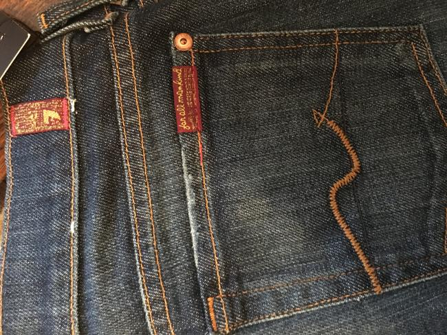7 For All Mankind Boot Cut Jeans-Dark Rinse Image 2