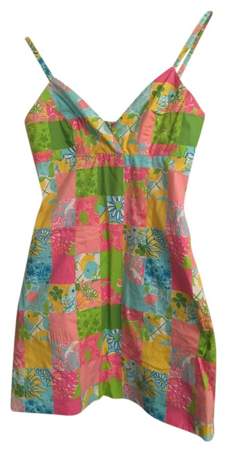 Preload https://img-static.tradesy.com/item/21325311/lilly-pulitzer-pink-green-yellow-blue-white-color-sensation-short-casual-dress-size-4-s-0-1-650-650.jpg