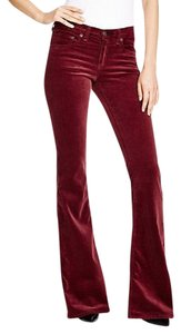Rag & Bone Super Flare Pants Bordeaux