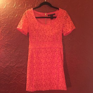 Marc by Marc Jacobs short dress Vibrant Red Lace on Tradesy