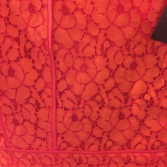 Marc by Marc Jacobs short dress Vibrant Red Lace on Tradesy Image 4