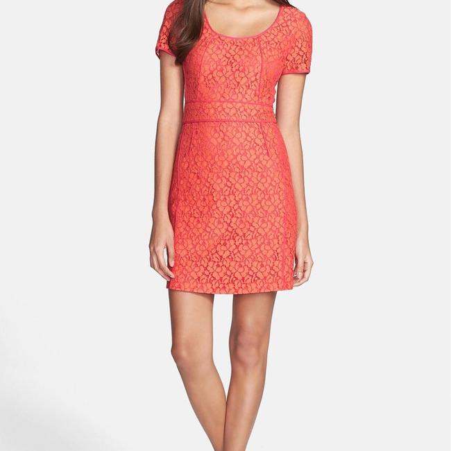 Marc by Marc Jacobs short dress Vibrant Red Lace on Tradesy Image 5