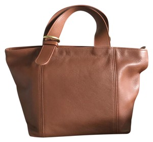 Coach Vintage Classic Leather Satchel in brown