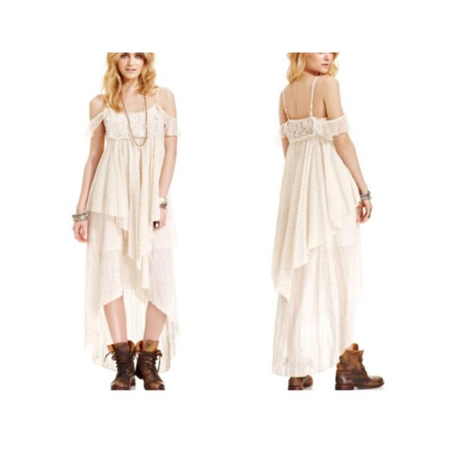 Cream Maxi Dress by Free People Image 10