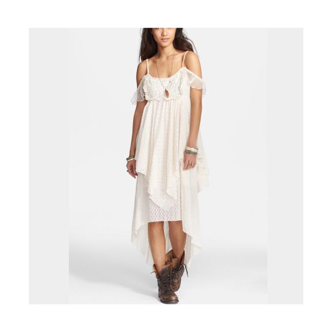 Cream Maxi Dress by Free People Image 7