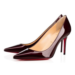 Christian Louboutin Metal Patent Orthodoxe Pumps