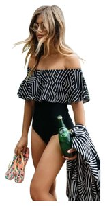 Other New Off Shoulder Ruffle One PC Swimsuit