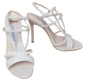 Charles David Leather nude Sandals