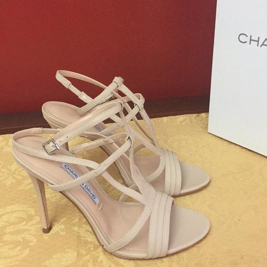 Charles David Leather nude Sandals Image 1