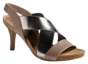 Anyi Lu Strap matte with metallic Sandals