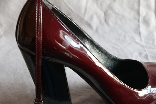 Prada Burgundy/Red Platforms